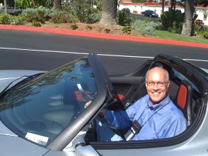 Glen Hiemstra test drives the Tesla at FiRe 2009